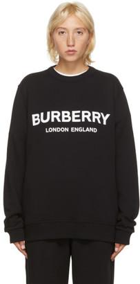 Burberry Black Lanslow Sweatshirt