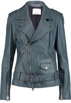 3.1 Phillip Lim Belted Leather Biker Jacket