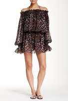 Norma Kamali Peasant Dress Cover-Up