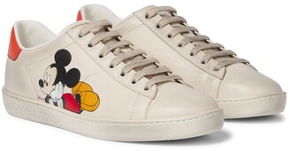 Gucci x Disney Ace leather sneakers