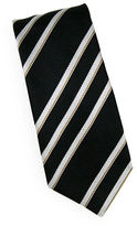 Linea In Natural Garza Stripe Silk Tie