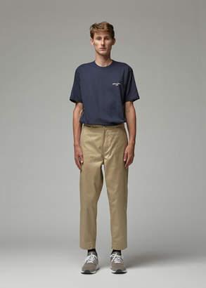 Comme des Garcons Homme Men's Printed T-Shirt in Navy Size Medium