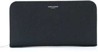 Saint Laurent Classic Zip-Around Wallet