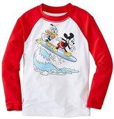 Boys Disney Mickey Mouse Sun-Ready Rash Guard