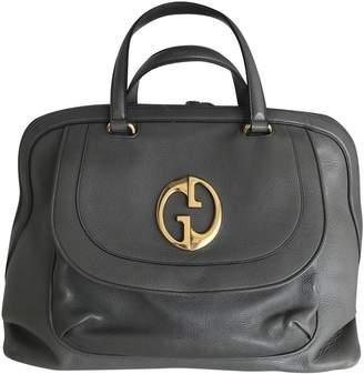 Gucci \N Grey Leather Handbags