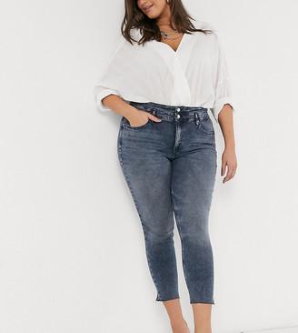 Calvin Klein Jeans high rise skinny ankle grazer jeans