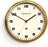 Newgate Chrysler Wall Clock White - Radial Brass