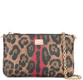 Dolce & Gabbana leopard print crossbody bag