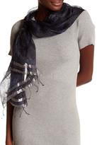 Saachi Floral Print Silk Wrap