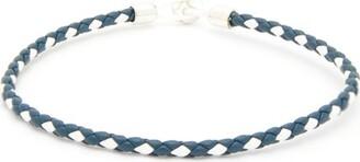 Miansai Nexus Leather Bracelet - Navy