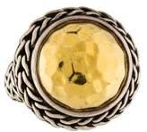 John Hardy Two-Tone Palu Dome Ring