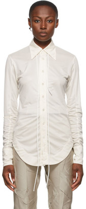 Ambush Off-White Ladies Fitted Shirt