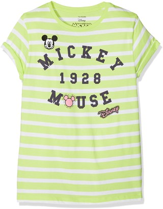 Disney Girl's Mickey Patches T-Shirt