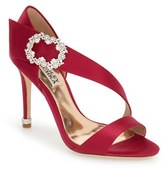 Badgley Mischka 'Night' Crystal Embellished Evening Sandal (Women)