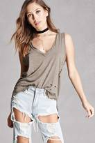 Forever 21 Heathered Tank Top