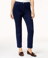 Alfred Dunner Gypsy Moon Straight-Leg Jeans
