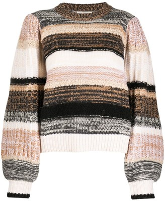 Ulla Johnson Samara intarsia knit jumper