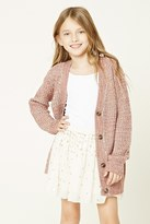 Forever 21 FOREVER 21+ Girls Ribbed Cardigan (Kids)