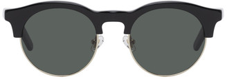 Han Kjobenhavn Black and Silver Smith Sunglasses