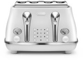 De'Longhi Delonghi Icona Elements 4 Slice Toaster White