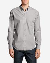 Eddie Bauer Men's Legend Wash Long-Sleeve Poplin Shirt - Solid