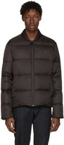 Fendi Reversible Black Down Quilted Jacket