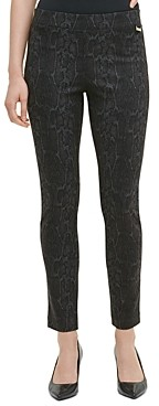 Calvin Klein Animal Print Skinny Pants