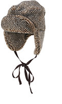 Albertus Swanepoel MEN'S IOREK FAUX-FUR TRAPPER HAT