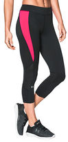 Under Armour Mesh-Paneled HeatGear Leggings
