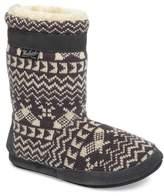 Woolrich Women's Whitecap Knit Slipper Bootie