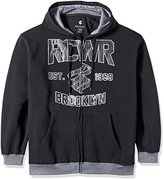 Rocawear Men's Big and Tall Main Event Fleece Hoody