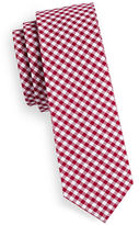 The Tie Bar Gingham Cotton Tie