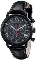 88 Rue du Rhone Women's 87WA130027 Double 8 Origin Analog Display Swiss Quartz Black Watch
