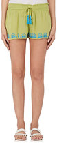OndadeMar WOMEN'S EMBROIDERED VOILE SHORTS