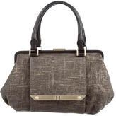 Halston Woven Shoulder Bag
