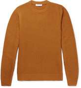 Sandro - Slim-fit Waffle-knit Wool-blend Sweater