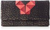 Liebeskind Berlin Women's Nena Wallets Black Schwarz (ninja black/burning pink 99D3)
