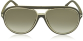 Tom Ford SERGIO FT0379 Aviator Sunglasses