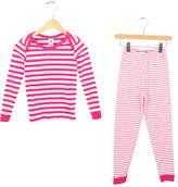 Petit Bateau Girls' Two-Piece Pajama Set w/ Tags