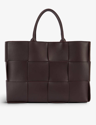 Bottega Veneta Arco medium intrecciato leather tote bag