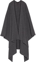 The Row Cappeto Ribbed Cashmere Wrap - Anthracite