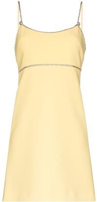 Miu Miu Swarovski crystal-embellished mini dress