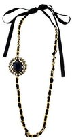 Marni Embellished Pendant Necklace