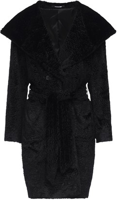 Tagliatore Chelsey Faux Fur Midi Coat