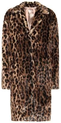 N°21 Leopard-print faux fur coat