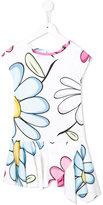 MonnaLisa floral print dress - kids - Spandex/Elastane/Rayon - 3 yrs