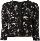 Twin-Set floral print cardigan - women - Cotton/Viscose - S