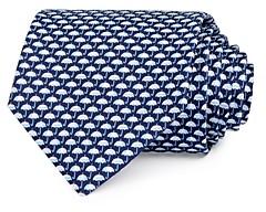Salvatore Ferragamo Umbrella Silk Classic Necktie