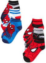 Marvel Spider-Man Athletic Socks, Little Boys( 2-7) & Big Boys (8-20)