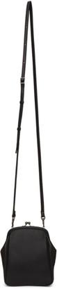 Yohji Yamamoto Black Medium Clasp Shoulder Bag